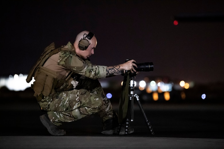 Muralist, painter, street artist and 315th Airlift Wing Reservist, Staff Sgt. Corban Lundborg, combat photojournalist with the 4th Combat Camera Squadron at JB Charleston, South Carolina, used his creative talent and public affairs training to win 2018 Military Photographer of the Year and first place in the 2018 Military Visual Awards portrait category.
