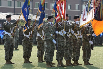 Morgan assumes command of the 128th Aviation Brigade