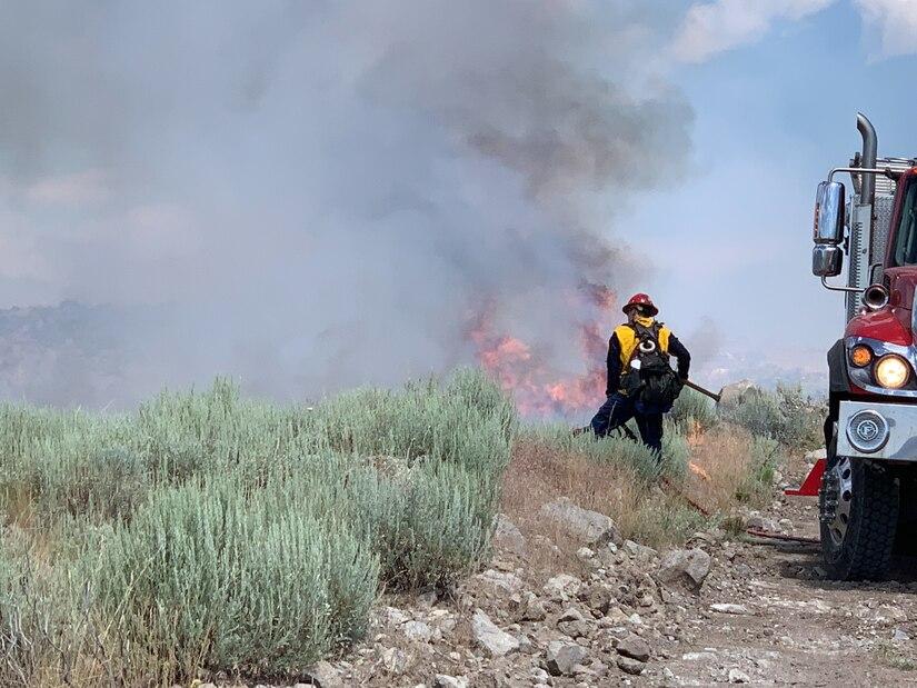 Oak Springs Utah Fire