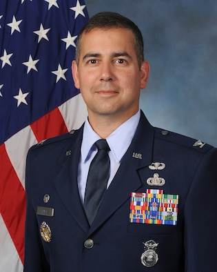 Colonel Frank Reyes is commander, 341st Security Forces Group, Malmstrom Air Force Base, Montana, home of the largest security forces group in the United States Air Force. He leads five security forces squadrons of more than 1,200 personnel in providing security and force protection for the 341st Missile Wing, including its main operating base, 15 launch control centers and 150 intercontinental ballistic missiles deployed across 13,800-square-miles in central Montana.