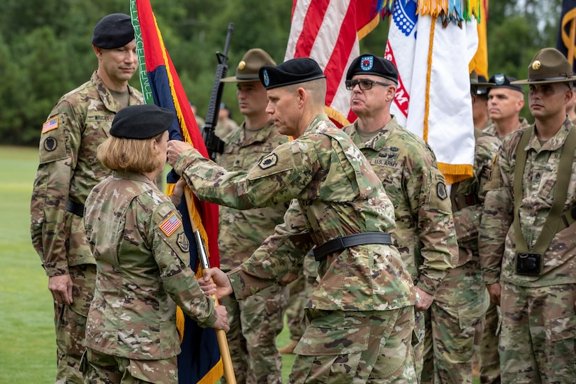 Army Reserve Division welcomes new commander at Fort Benning