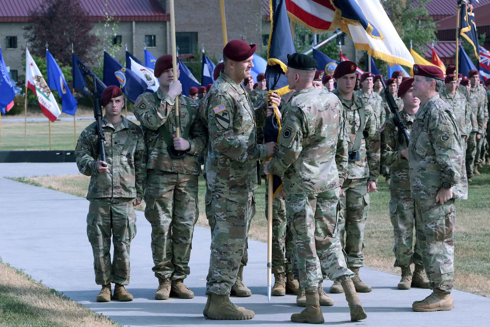 U.S. Army Alaska  Conducts Change of Command Ceremony