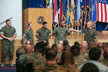 General  David H. Berger 38th Command of the Marine Corps
