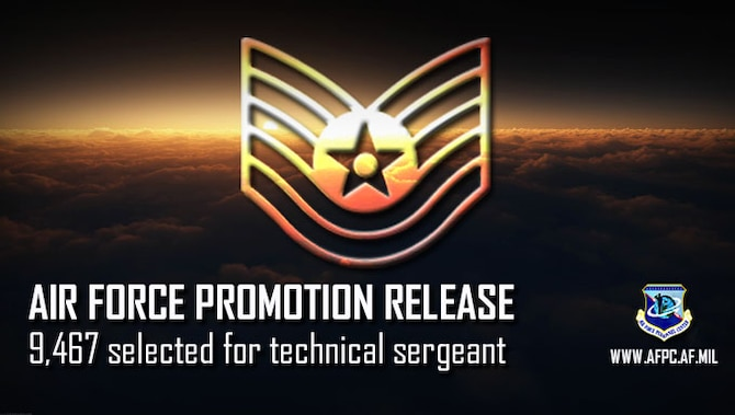 Air Force releases technical sergeant/19E6 promotion cycle statistics