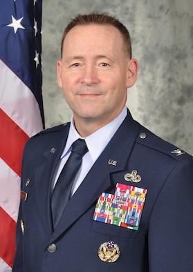 Col. Paul Filcek, 72 Air Base Wing Commander