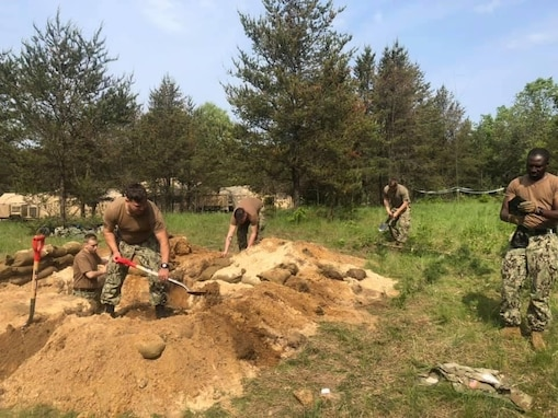 Seabees, Soldiers Join Forces During Integrated Training Exercise