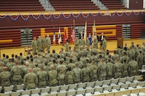 103rd Sustainment Command (Expeditionary) conducts Farewell Ceremony