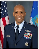 Gen. CQ Brown, Jr. Pacific Air Forces commander 26 Jul 2018.