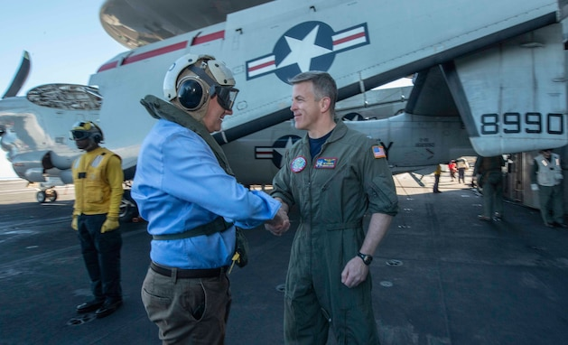Deputy Prime Minister of Australia Visits USS Ronald Reagan