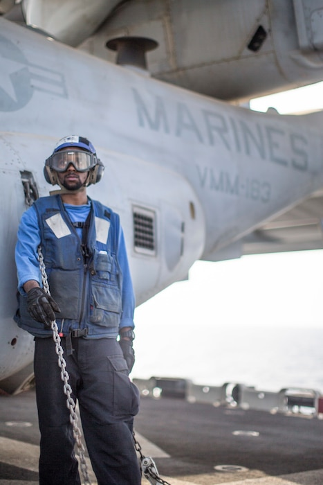 Flight Operations aboard the USS Boxer