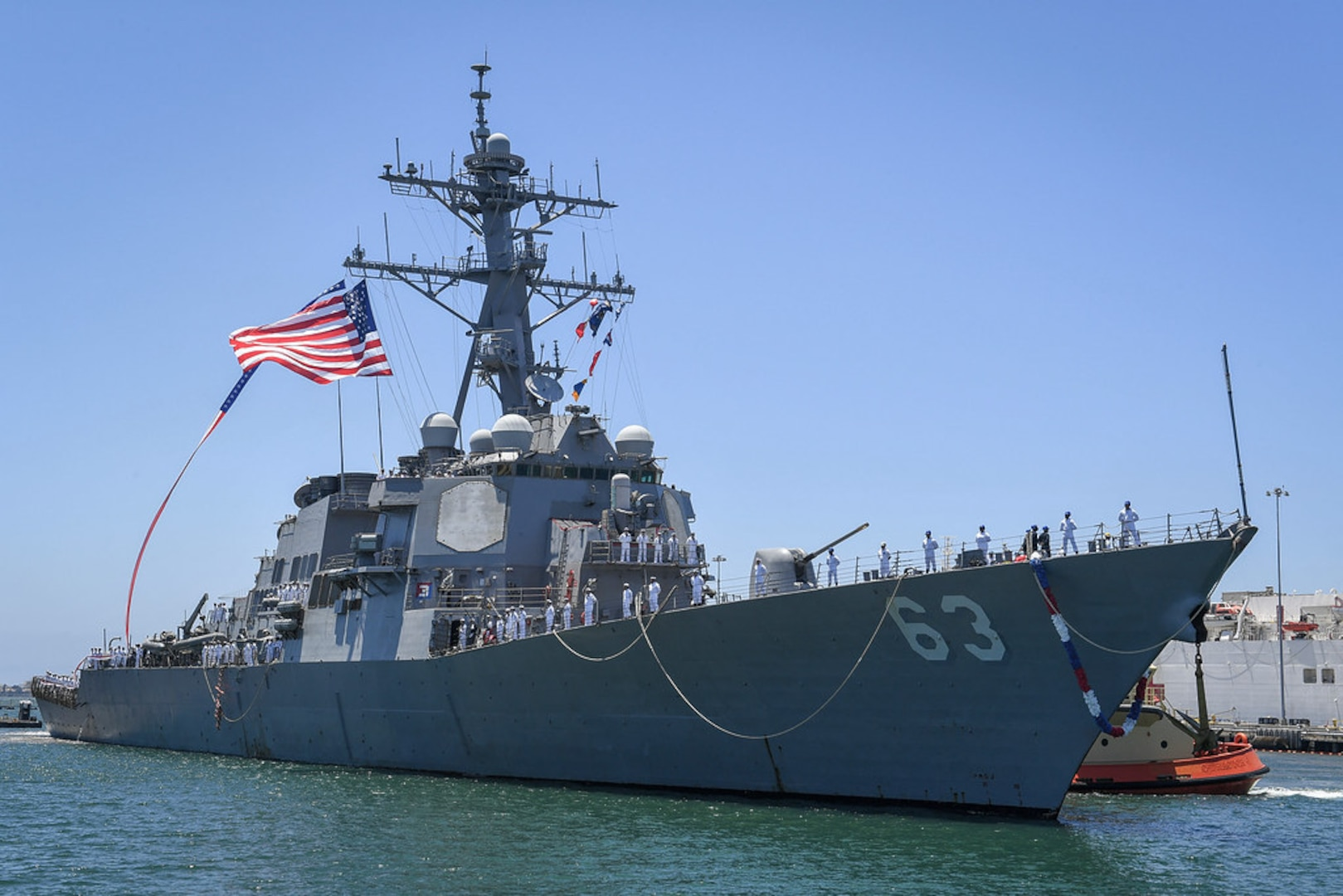 USS Stethem Arrives at New San Diego Homeport