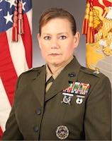 Colonel Amy R. Ebitz, Marine Corps Installations East-Marine Corps Base Camp Lejeune Headquarters & Support Battalion commanding officer