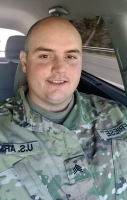 Sgt. William Friese, a West Virginia Army National Guard Soldier assigned to the 821st Engineer Company, 1092nd Engineer Battalion, 111th Engineer Brigade, Summersville, West Virginia, passed away in Camp Buehring, Kuwait, from a non-combat related incident July 18, 2019, while serving in support of Operation Inherent Resolve. (Courtesy Photo)