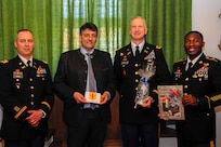 Grafenwoehr mayor meets the 41st FAB