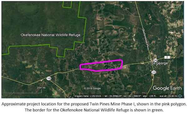 Twin Pines Mine Phase I