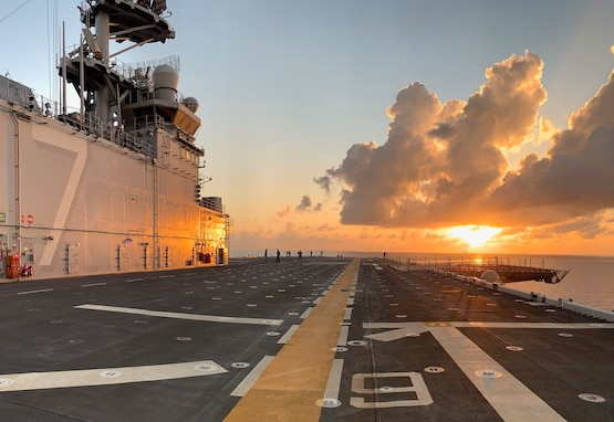 Navy's newest America-class amphibious assault ship, the future USS Tripoli (LHA 7), successfully completed Builder's Trials.