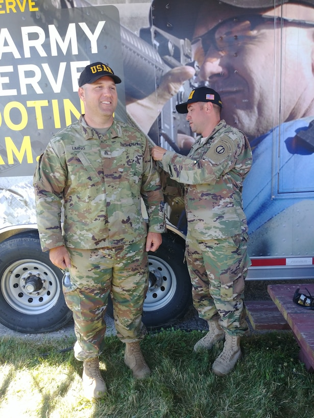 New President's Hundred tab for Army Reserve