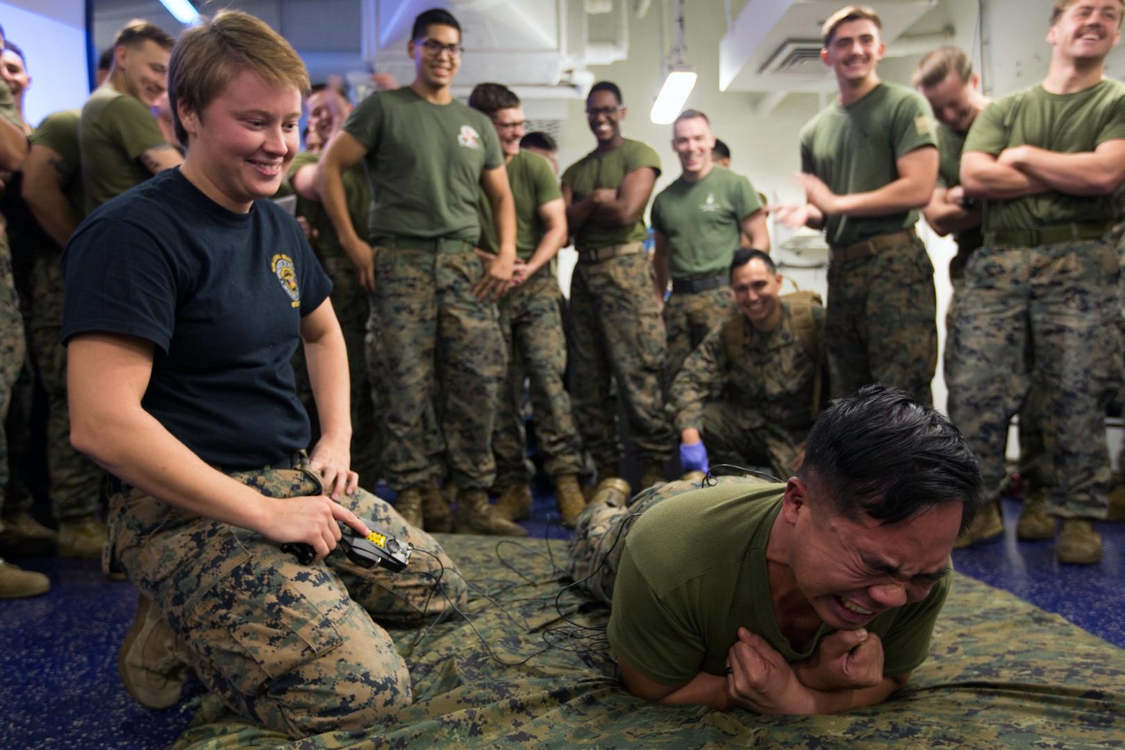 Law Enforcement Detachment Provides Versatility, Realistic Training to 31st MEU