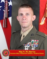 Maj. Harvey Bio Photo