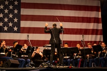 """An American Celebration""; The 3rd MAW Band Celebrates Independence Day in Escondido"