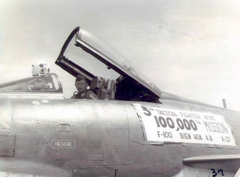 Col Homer K. Hansen, 3rd Tactical Fighter Wing Commander,