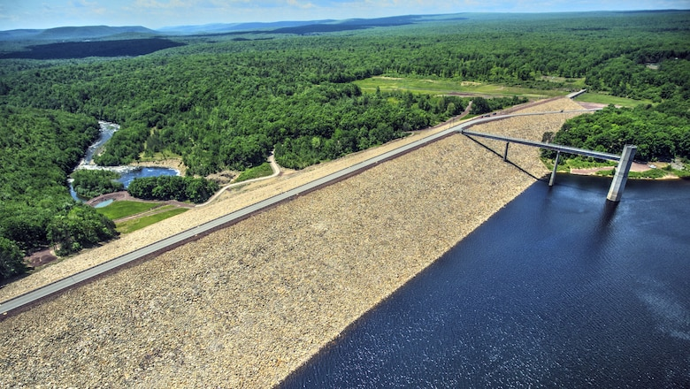 The Francis E. Walter Dam has prevented more than $220 million in flood damages since its construction. It also supports recreation along the Lehigh River with planned fishing and whitewater rafting water releases.