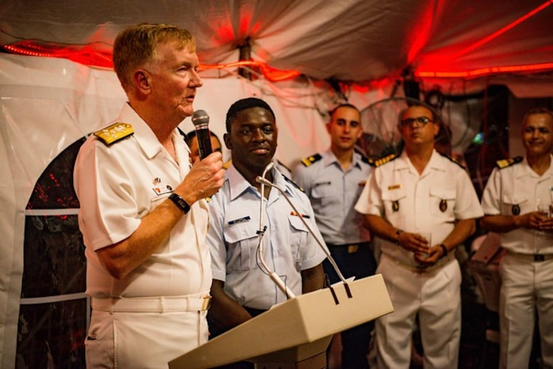 Strengthening Our Bonds with Ghana, Enhancing Gulf of Guinea