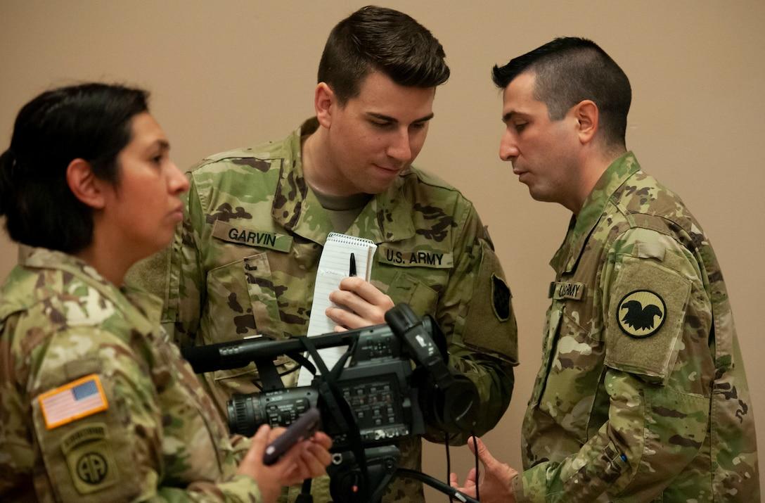 Public affairs Soldiers prepare for the future