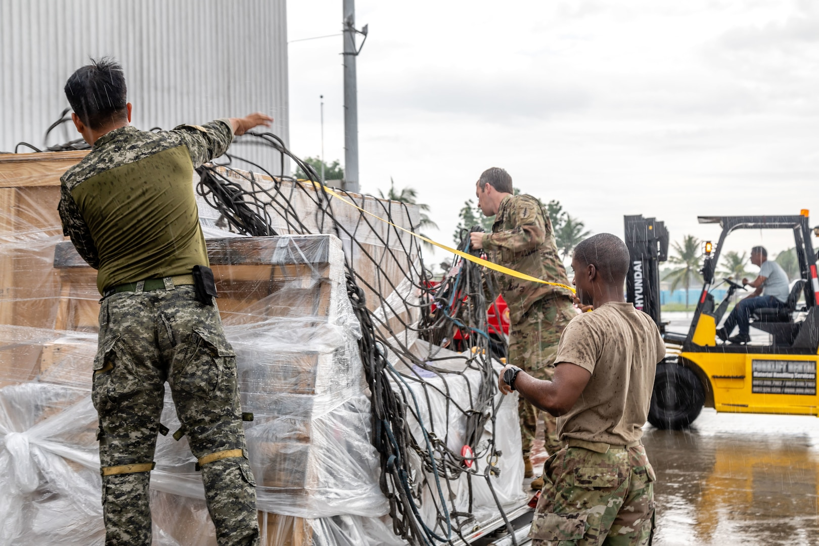 U.S. Delivers Military Equipment to the Armed Forces of the Philippines