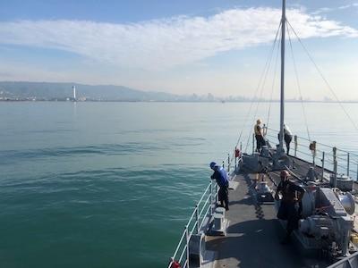 USS Patriot Arrives In Cebu, Philippines