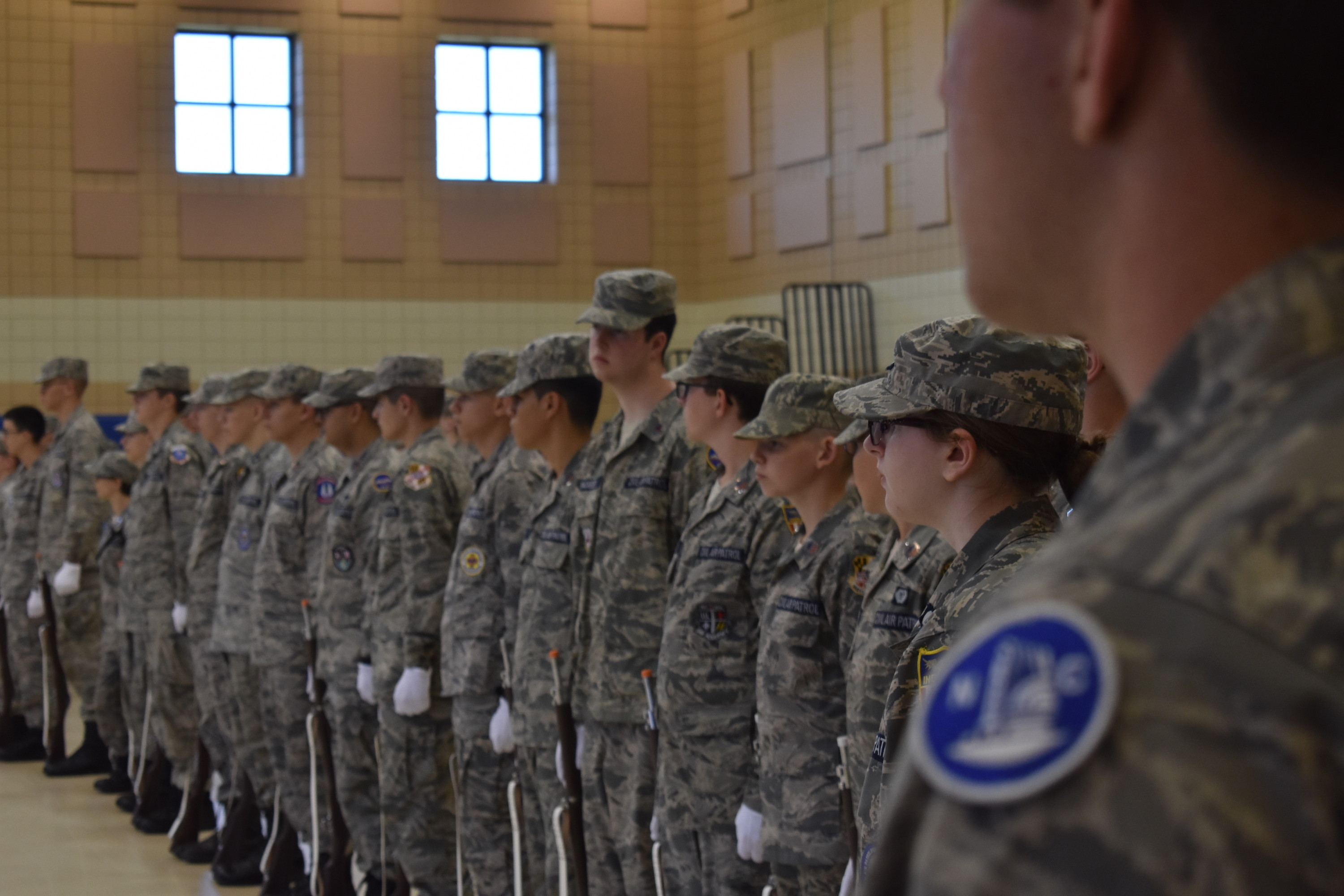 Mid-Atlantic Honor Guard Academy draws cadets from every