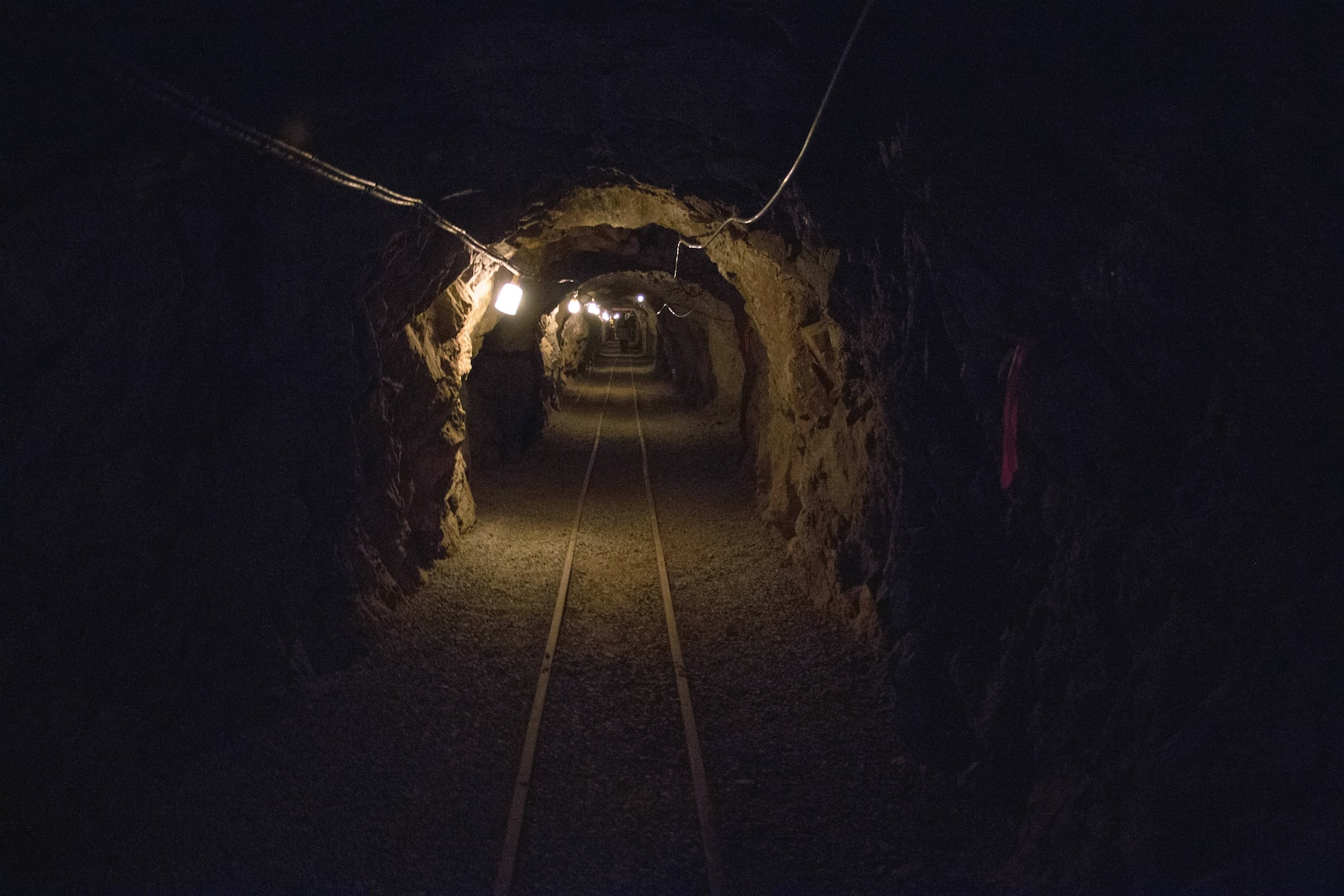 The DARPA Subterranean Challenge explores innovative approaches and new technologies to rapidly map, navigate, and search complex underground environments, Edgar Experimental Mine, April 2019 (DARPA/Colorado School of Mines)