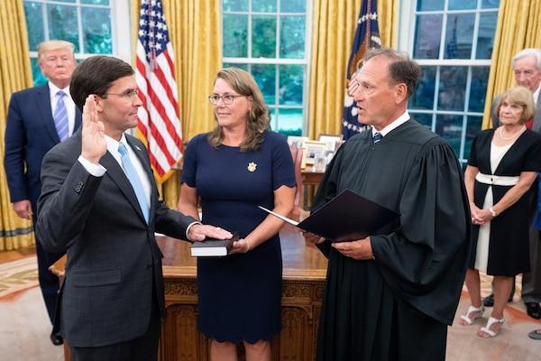 Esper Becomes 27th Defense Secretary