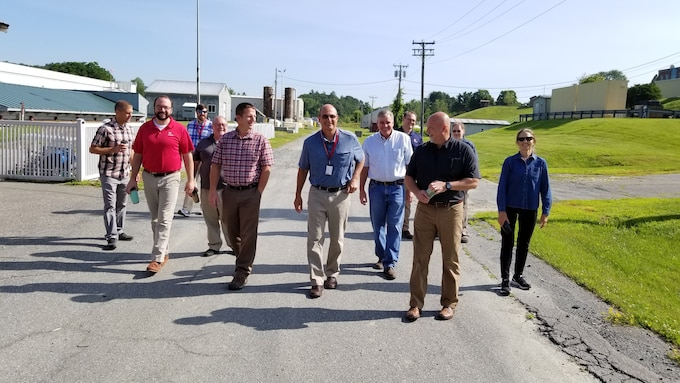 Corps Water Quality Committee visits Cold Regions Research and Engineering Laboratory