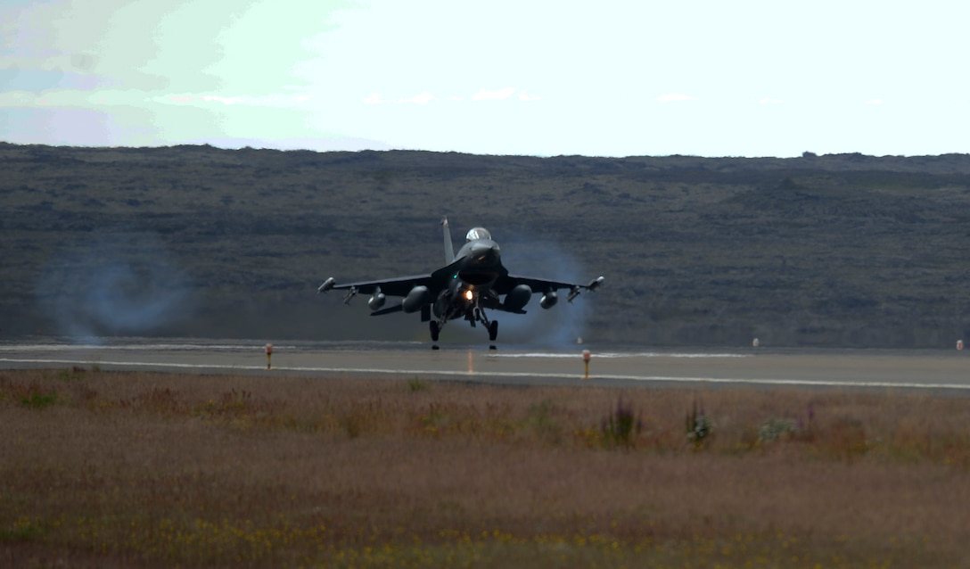Over 100 Airmen and F-16 Fighting Falcons from the 480th Fighter Squadron, 52nd Fighter Wing, are in Iceland in support of NATO alliance commitments. Other NATO allies have also conducted this mission in the past, including: France, Denmark, and Italy.