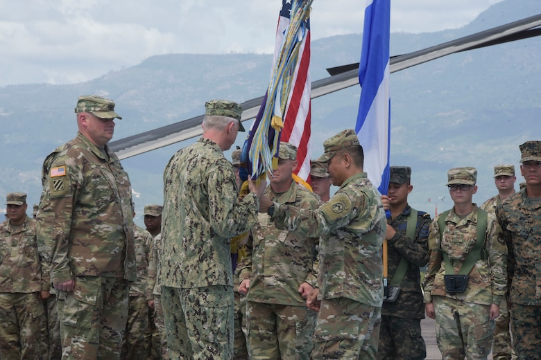 NEW LEADER ASSUMES COMMAND OF JTF-BRAVO
