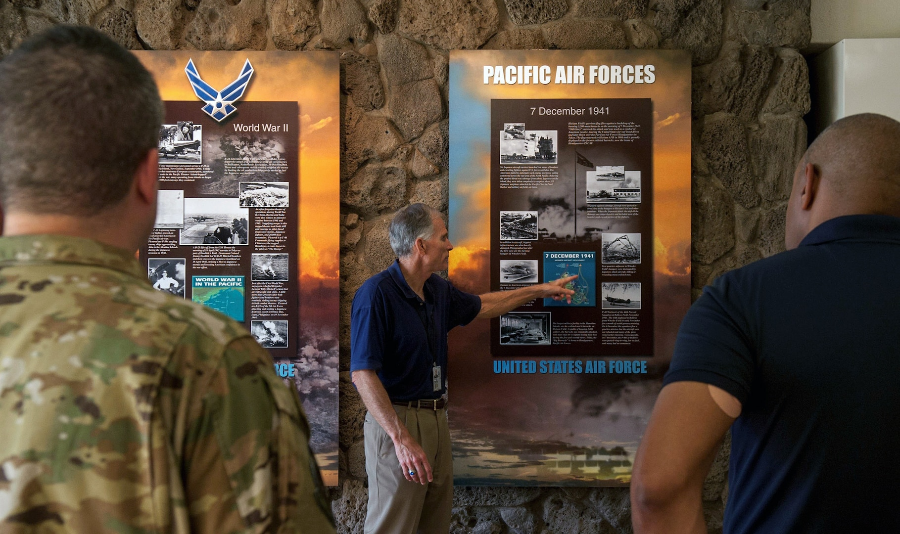 Air Education and Training Command Airmen Visit PACAF to Enhance Warfighter Alignment