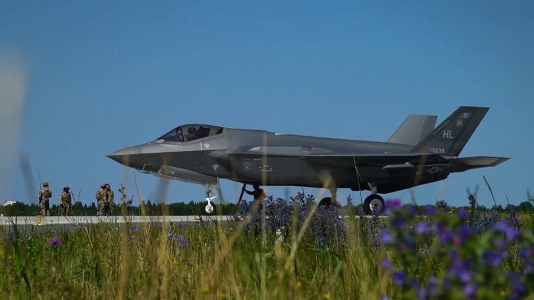F-35A Lightening II in Estonia.