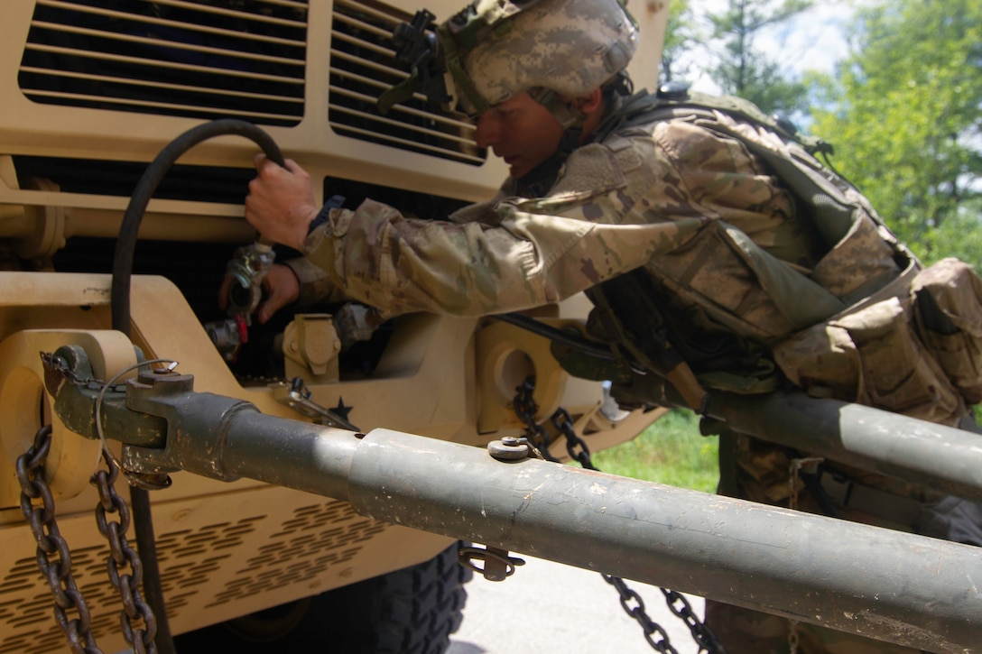 86th Training Division Safety Team Ensures Compliance, Welfare during Combat Support Training Exercis
