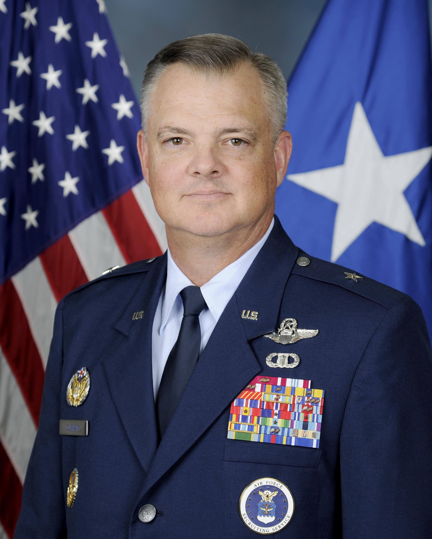 BRIGADIER GENERAL DERIN S  DURHAM > Air Force Recruiting Service