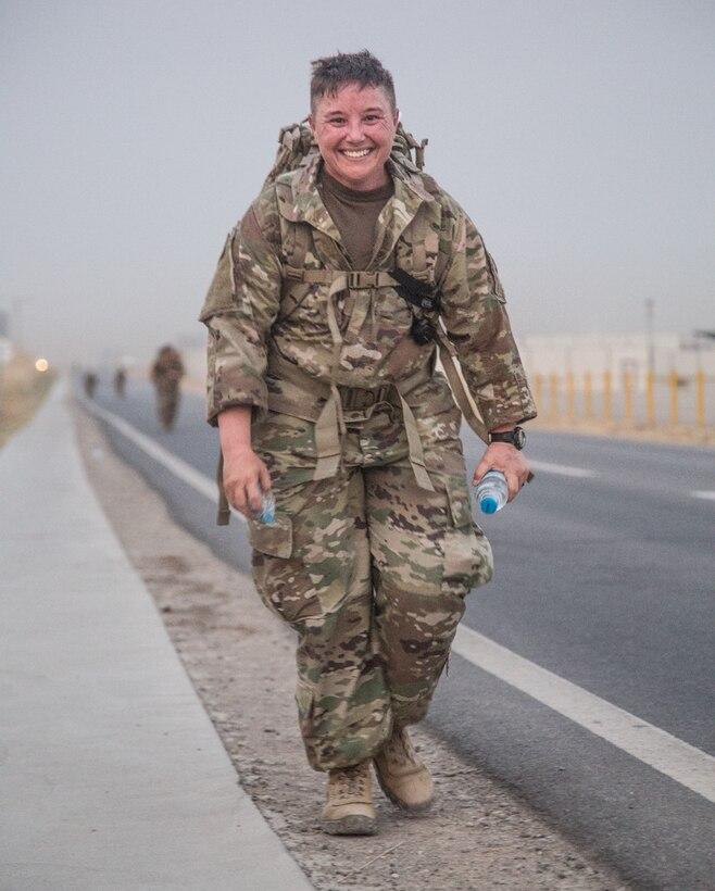 Deployed Duluth soldier earns Norwegian skill badge