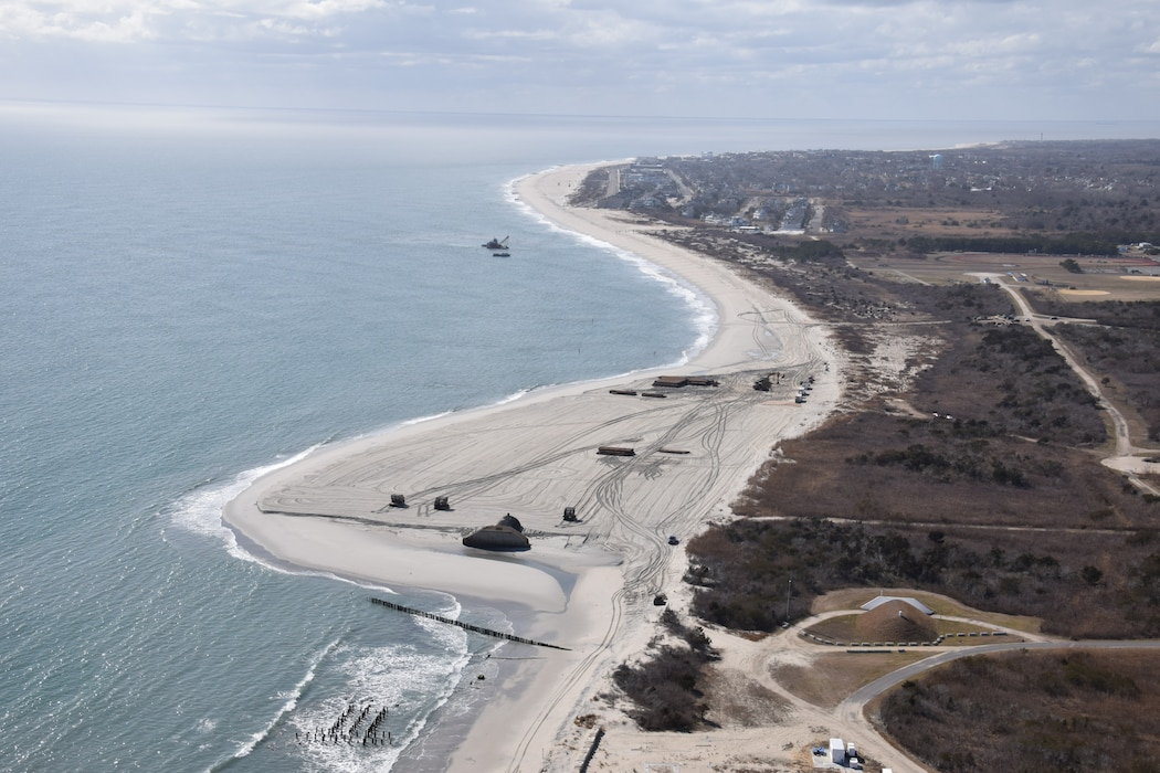 In July 2019, USACE awarded a contract to Great Lakes Dredge & Dock Company for periodic nourishment of the Cape May Inlet to Lower Township (Cape May City) Coastal Storm Risk Management project. Work began in September 2019.