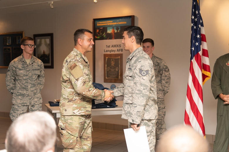 Airmen from the 192nd AMXS appointed as dedicated crew chiefs