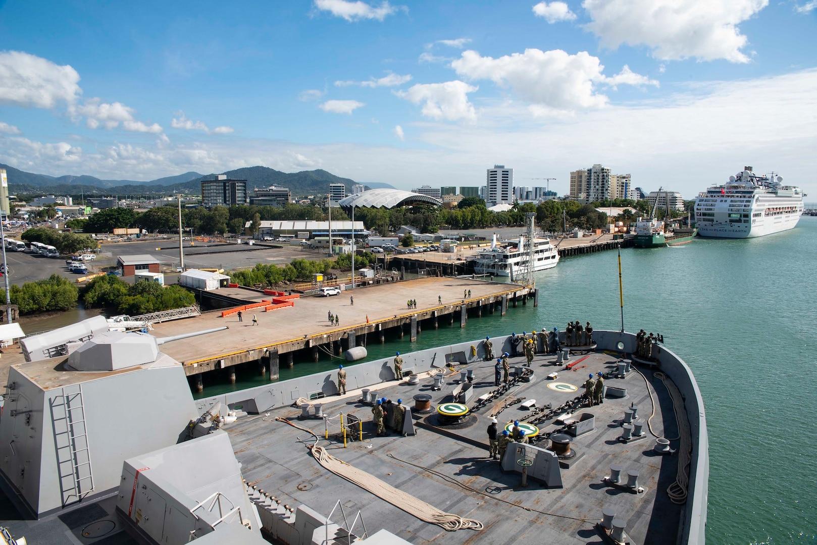 Wasp Amphibious Ready Group ends Talisman Sabre with Australia Port Visits