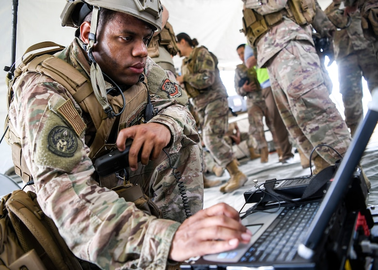 621st CRW teams up with joint partners in 'Southeast Asia' for exercise