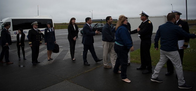 The U.S. has been participating in this Iceland Air Surveillance mission since 2008