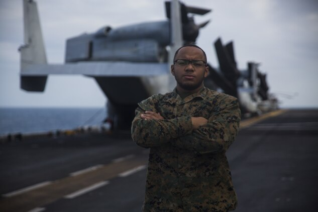 """""""We cross-train Marines in every aspect of combat logistics, preparing them for the field and for any situation because when you're a Marine, you are able to adapt and overcome,"""" said Corporal Christian Gomez, a supply specialist with CLB-31."""