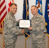 Aube promoted to 1st Lt