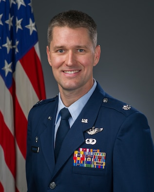 Lt. Col. Brian Thomasson, 60th Operations Squadron commander, encourages Airmen to live life in a way they would like to be remembered for. Thomasson was inspired by the example set by his grandfather who survived World War II and had a significant impact on his life. (Courtesy Photo)