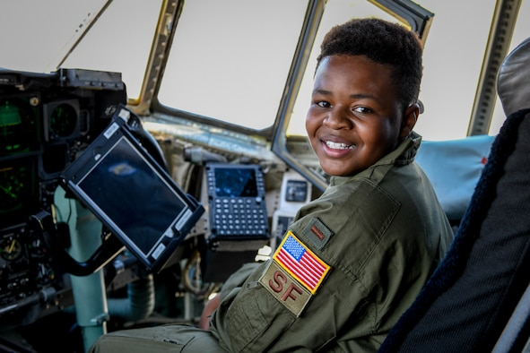 Donovan Stringer was commissioned as an honorary 2nd Lt. and made Pilot for a Day for his courageous battle against liver cancer. The 910th Airlift Wing began the Pilot for a Day program in 2000 as a community partnership with Akron Children's Hospital and has since welcomed 66 children with chronic or life-threatening illness as honorees.